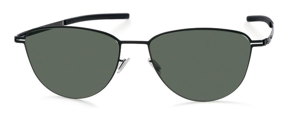 Купить Солнцезащитные очки Ic Berlin IB Pali Black Green Flex