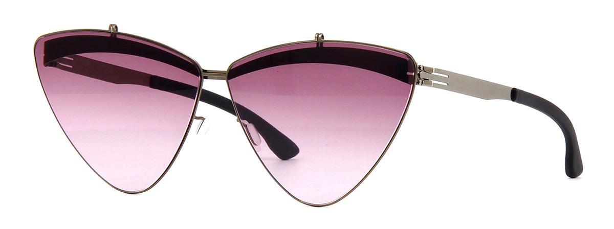 Солнцезащитные очки Ic Berlin IB The Femme Fatale Shiny Bronze Warm Grey Purple Haze Donnerstag  - купить со скидкой