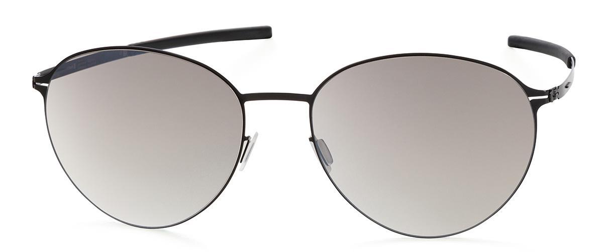 Купить Солнцезащитные очки Ic Berlin IB Tsuyu Black Brown-Sand Mirrored Flex