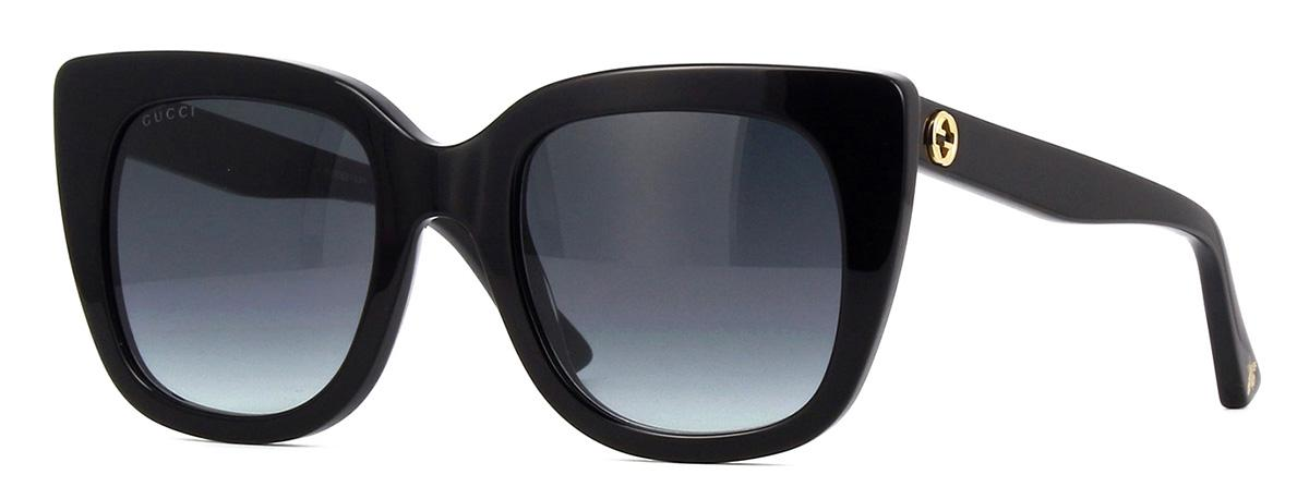 Купить Солнцезащитные очки Gucci GG 0163S 001