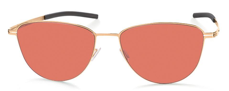 Купить Солнцезащитные очки Ic Berlin IB Pali Rose-Gold Warm Grey Redrum Flex