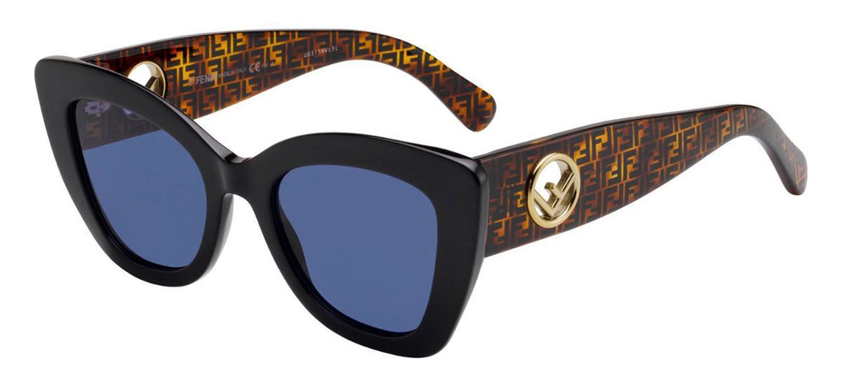 Солнцезащитные очки Fendi FF 0327/S 807 KU  - купить со скидкой