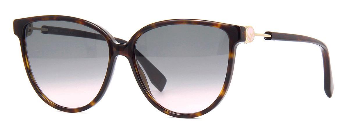 Солнцезащитные очки Fendi FF 0345/S 086 JP  - купить со скидкой