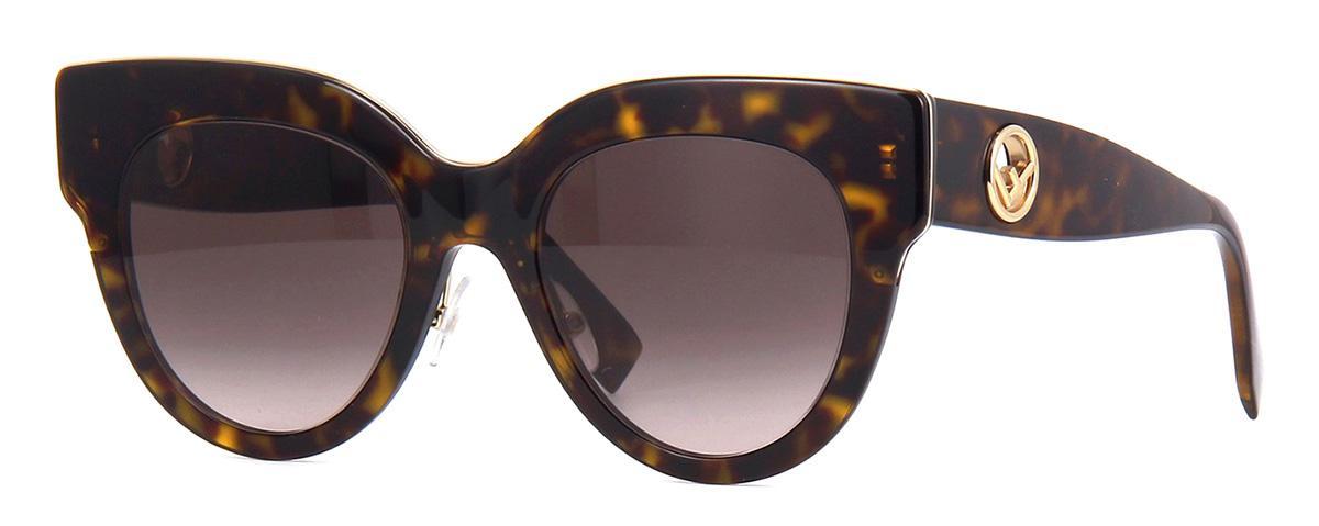Купить Солнцезащитные очки Fendi FF 0360/G/S 086 HA