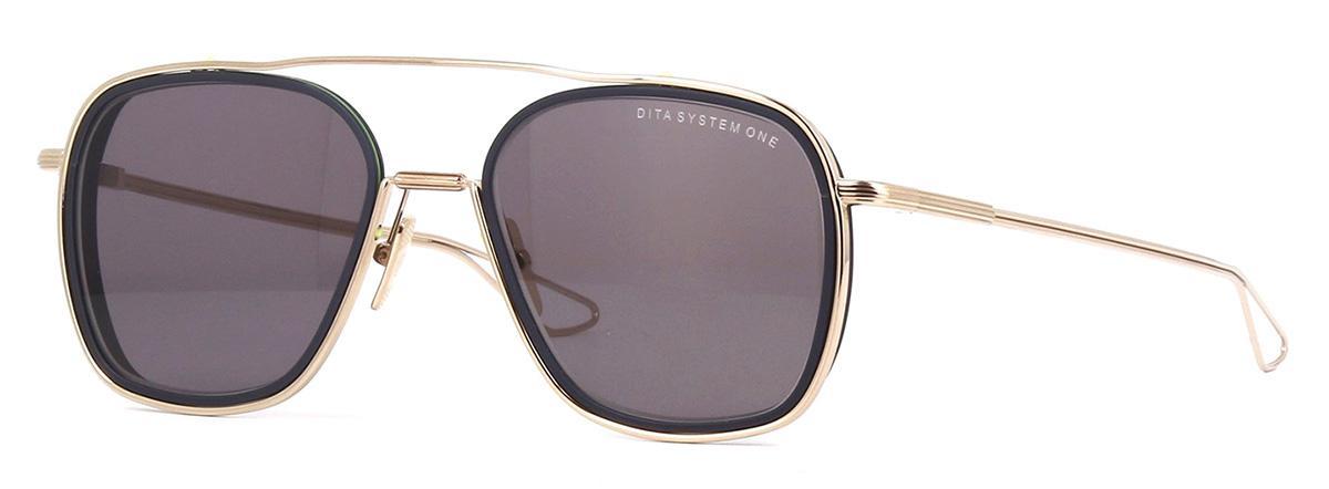 Купить Солнцезащитные очки Dita System One DIS 103-53-02 GLD/MID