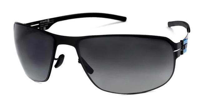 Купить Солнцезащитные очки Ic Berlin IB 109 Charlottenburg Black Black to Grey Polarized Flex