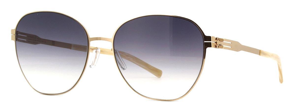Солнцезащитные очки Ic Berlin IB Judith W RoseGold RenWhite BlackClear Freitag  - купить со скидкой