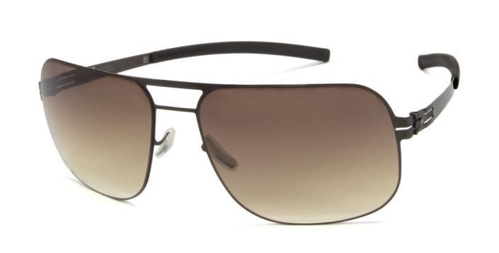 Купить Солнцезащитные очки Ic Berlin IB U5 Alex M1248 Flex Gun Metal Brown Sand