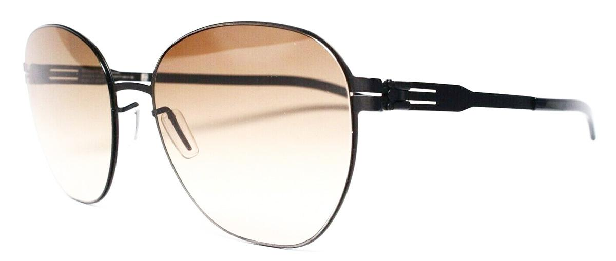 Купить Солнцезащитные очки Ic Berlin IB Judith W Black Obsidian BrownSand Freitag