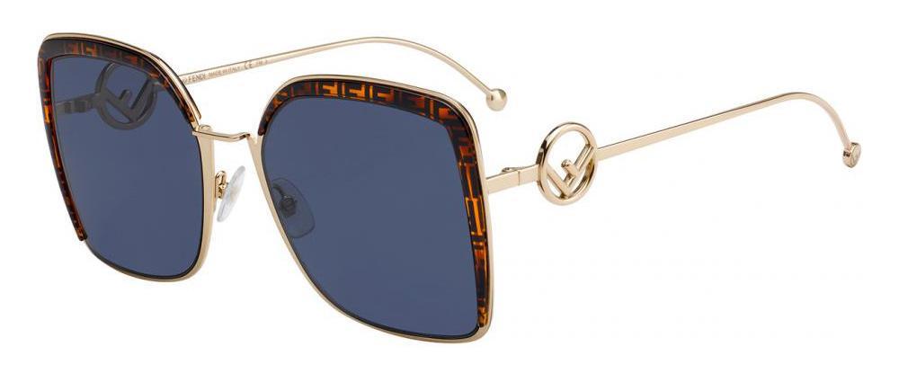 Солнцезащитные очки Fendi FF 0294/S J5G KU  - купить со скидкой