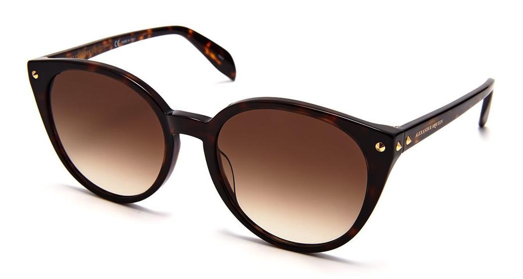 Купить Солнцезащитные очки Alexander McQueen AM 0130S 002