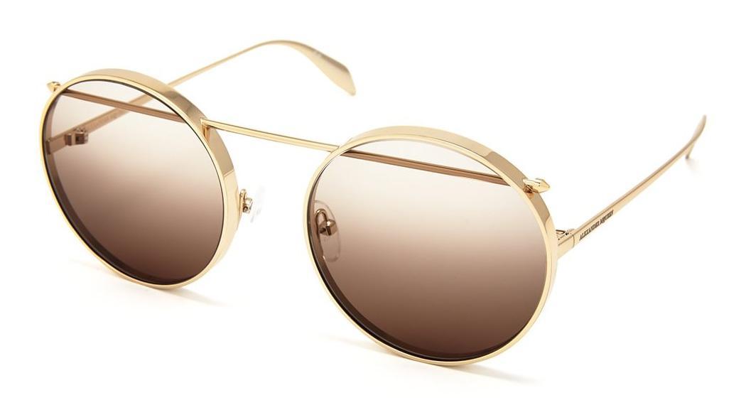 Купить Солнцезащитные очки Alexander McQueen AM 0137S 001