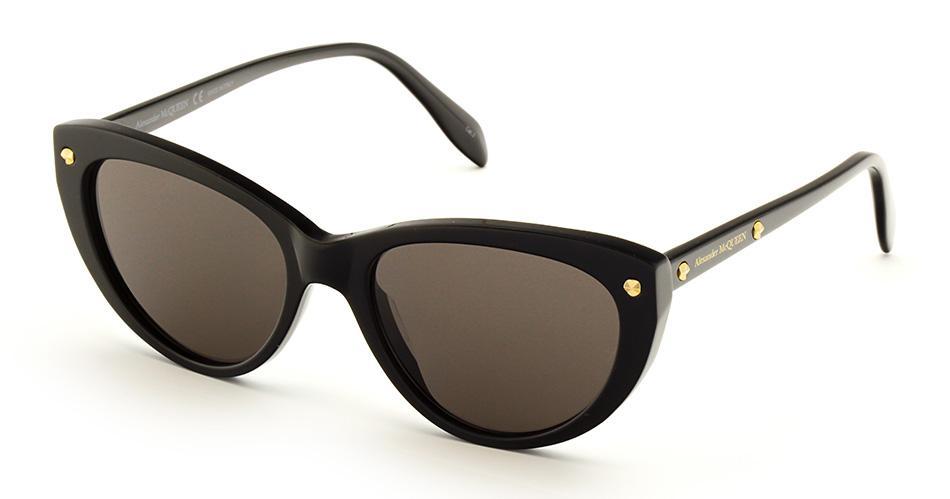 Купить Солнцезащитные очки Alexander McQueen AM 0189S 001