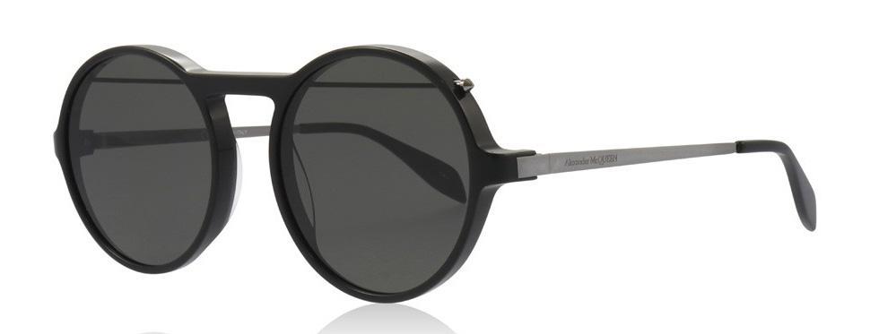 Солнцезащитные очки Alexander McQueen AM 0192S 001  - купить со скидкой