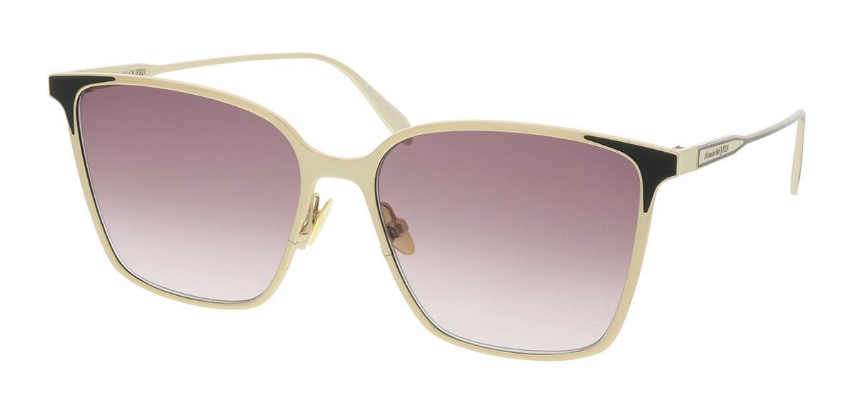 Солнцезащитные очки Alexander McQueen AM 0205S 004  - купить со скидкой