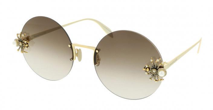 Купить Солнцезащитные очки Alexander McQueen AM 0207S 002