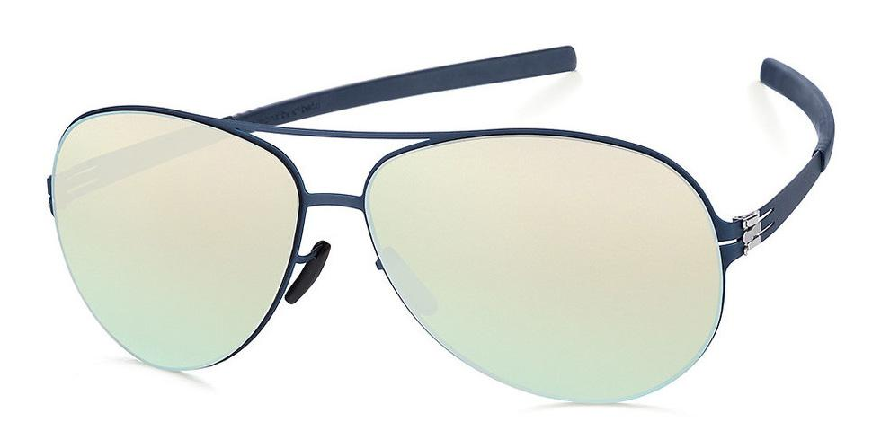 Купить Солнцезащитные очки Ic Berlin IB Raf S Marine Blue Silver Mirrored Flex