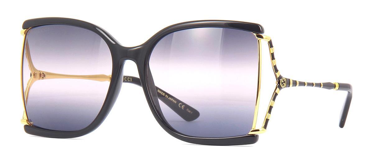 Солнцезащитные очки Gucci GG 0592S 002  - купить со скидкой