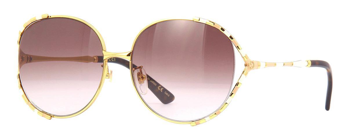 Солнцезащитные очки Gucci GG 0595S 004  - купить со скидкой