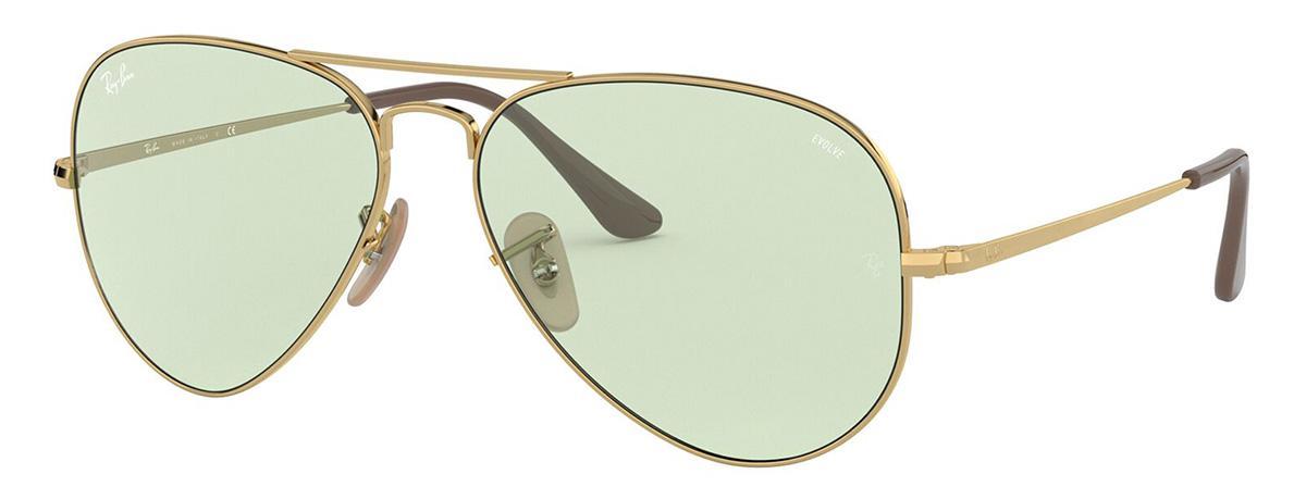 Купить Солнцезащитные очки Ray-Ban RB3689 001/T1 2F