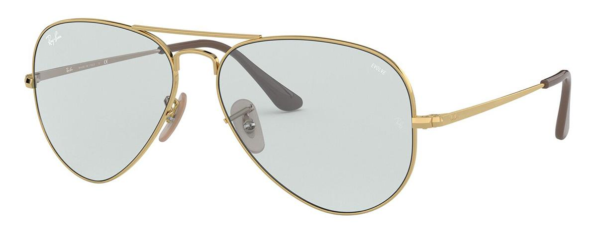 Купить Солнцезащитные очки Ray-Ban RB3689 001/T3 2F