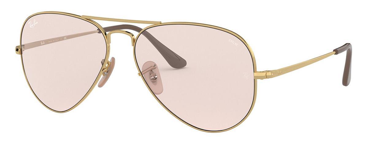 Купить Солнцезащитные очки Ray-Ban RB3689 001/T5 2F