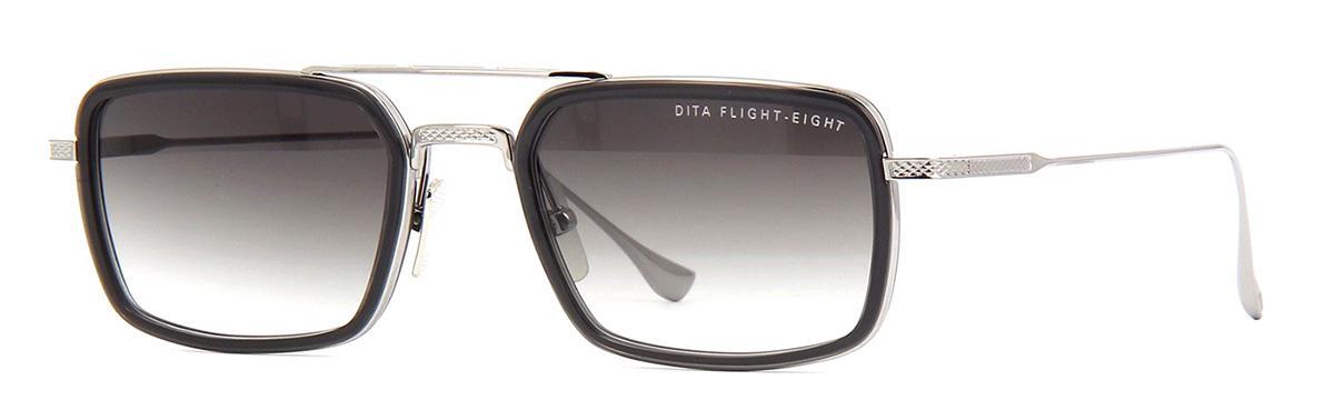 Купить Солнцезащитные очки Dita Flight 008 DTS 134-53-01 Smoke Grey Crystal-Black Palladium w/Dark Grey to Clear