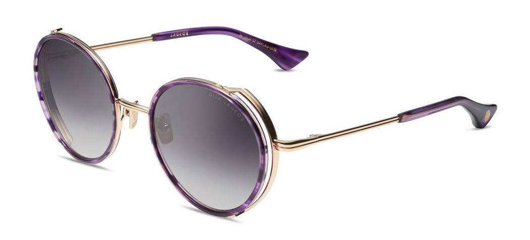 Купить Солнцезащитные очки Dita Lageos DTS 532-52-02 Dark Lavender-White Gold w/Dark Grey to Clear