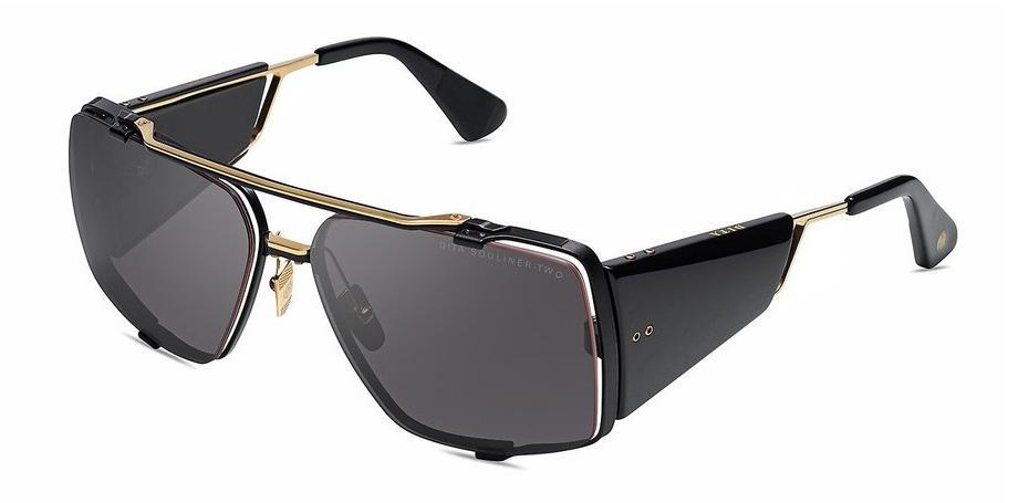 Купить Солнцезащитные очки Dita Souliner Two DTS 136-64-03 Matee Black-Yellow Gold-Black w/Dark Grey