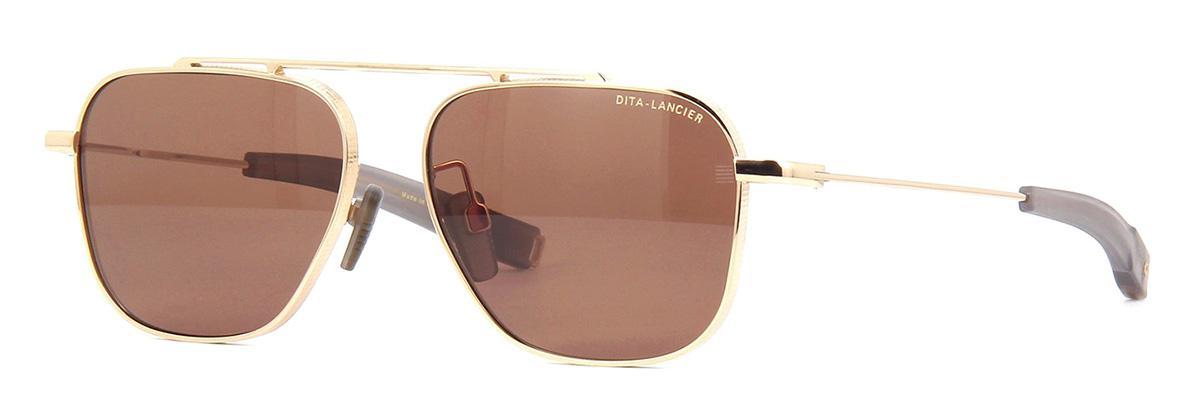 Купить Солнцезащитные очки Dita LSA-102 DLS 102-57-03 White Gold Brown Polar