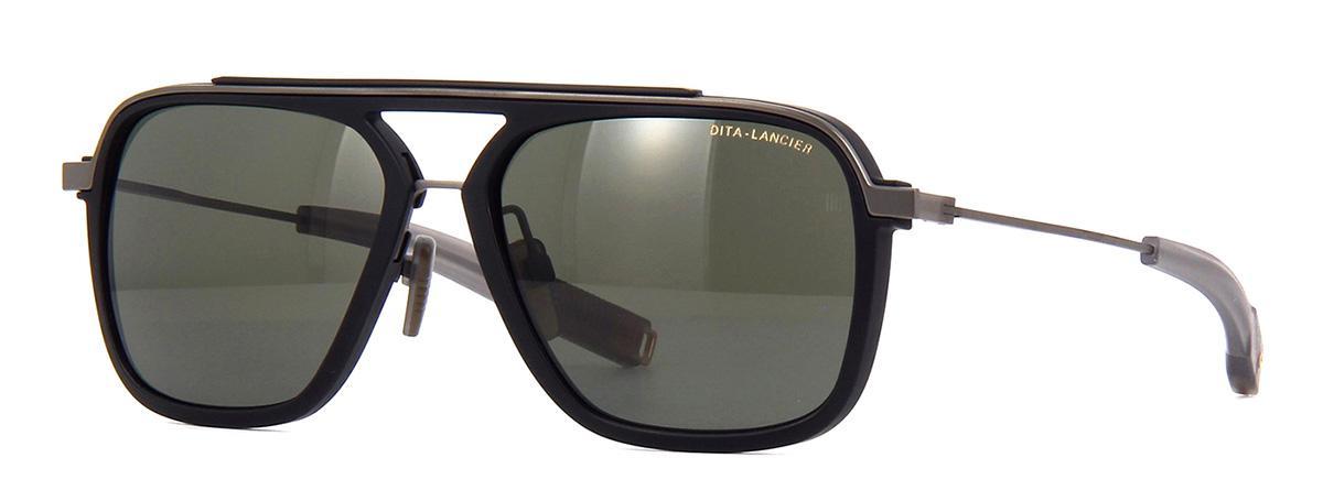 Купить Солнцезащитные очки Dita LSA-400 DLS 400-57-02 Matte Black-Black Gun G12