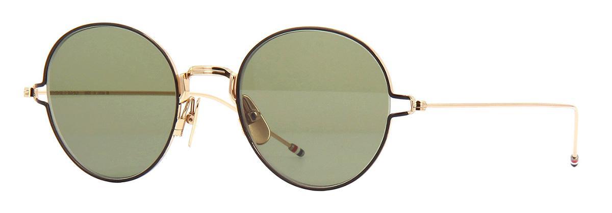 Купить Солнцезащитные очки Thom Browne TBS 915-50-02 White Gold-Black Enamel w/G-15