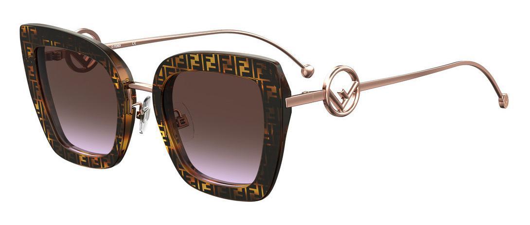 Купить Солнцезащитные очки Fendi FF 0408/S 086 QR