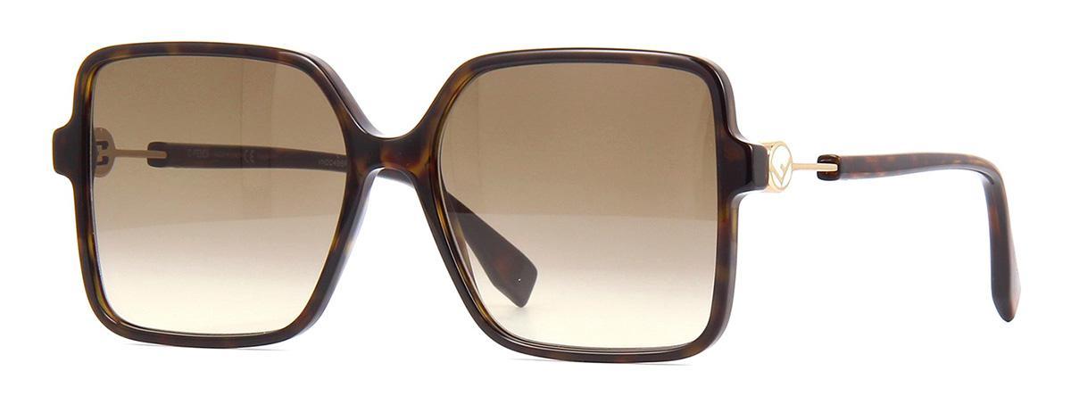 Купить Солнцезащитные очки Fendi FF 0411/S 086 HA