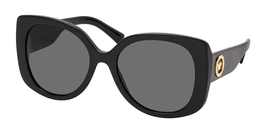 Солнцезащитные очки Versace VE4387 GB1/87 3N  - купить со скидкой
