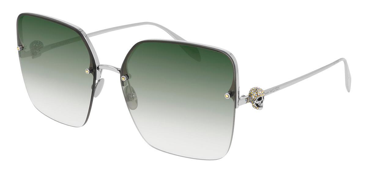 Купить Солнцезащитные очки Alexander McQueen AM 0271S 003, Chrome Hearts