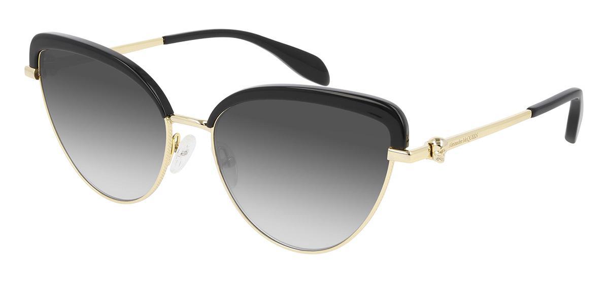 Купить Солнцезащитные очки Alexander McQueen AM 0257S 001