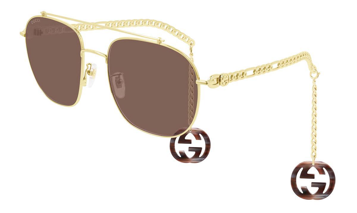 Купить Солнцезащитные очки Gucci GG 0727S 002