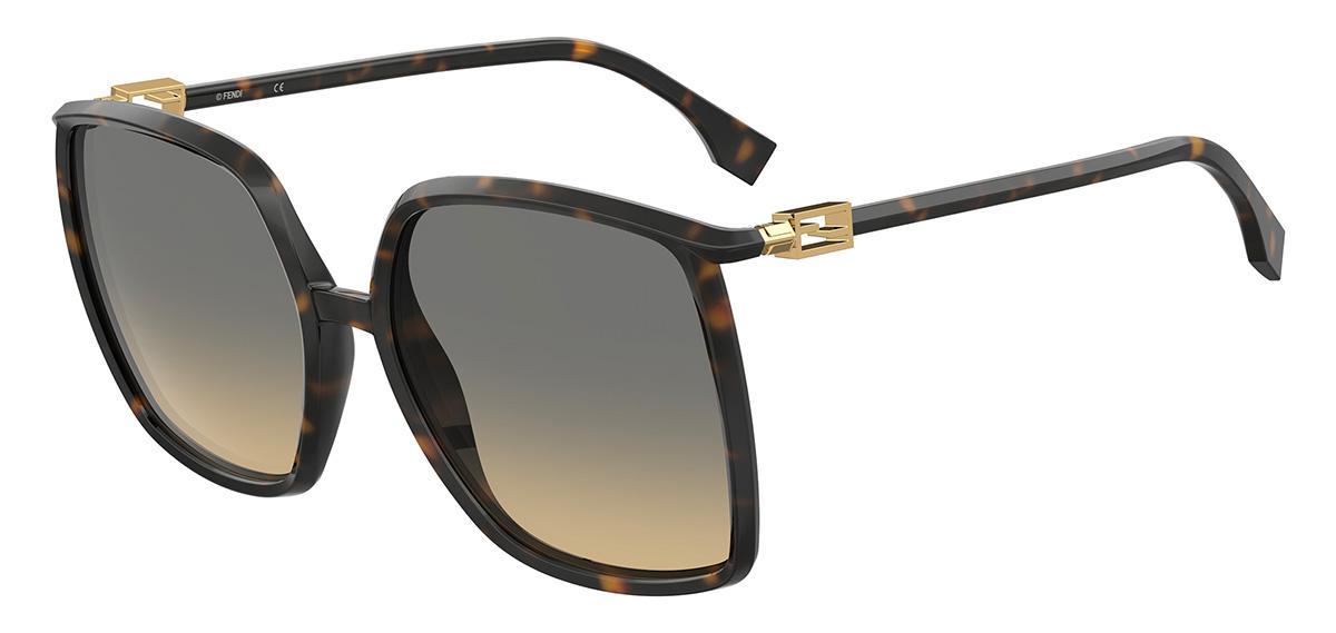 Купить Солнцезащитные очки Fendi FF 0431/G/S 086 GA