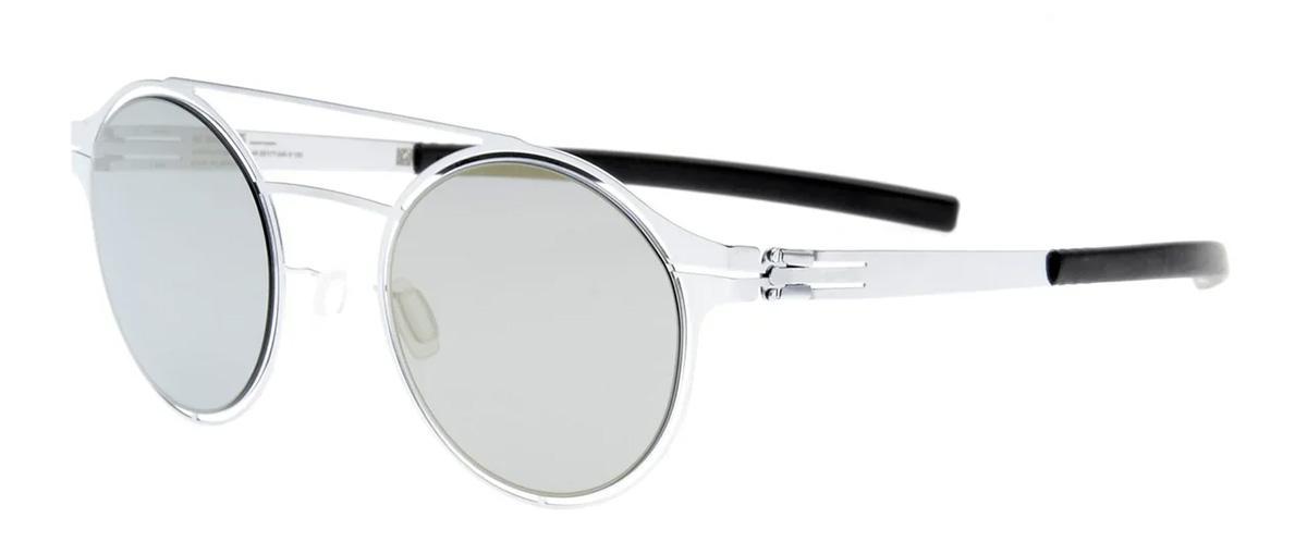 Купить Солнцезащитные очки Ic Berlin IB Circularity Fashion Silver Black Quicksilver Flex