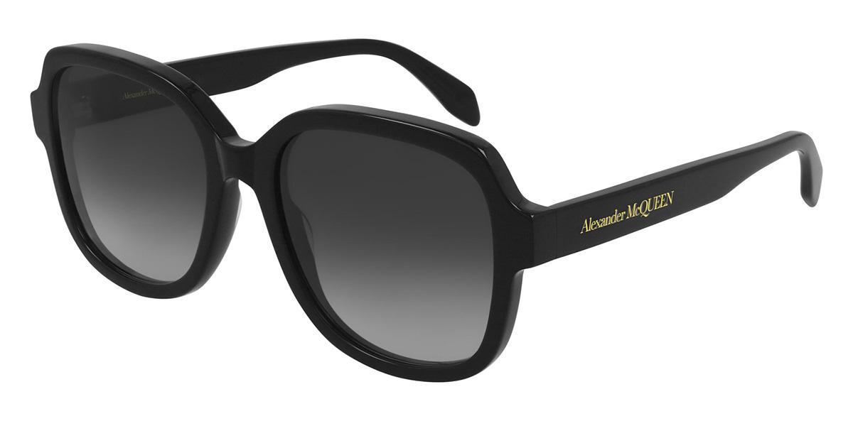 Купить Солнцезащитные очки Alexander McQueen AM 0300S 001