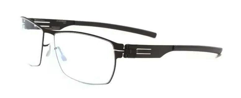 Купить Оправа Ic Berlin IB Kai M Black RX-Clear Flex, Оправы для очков