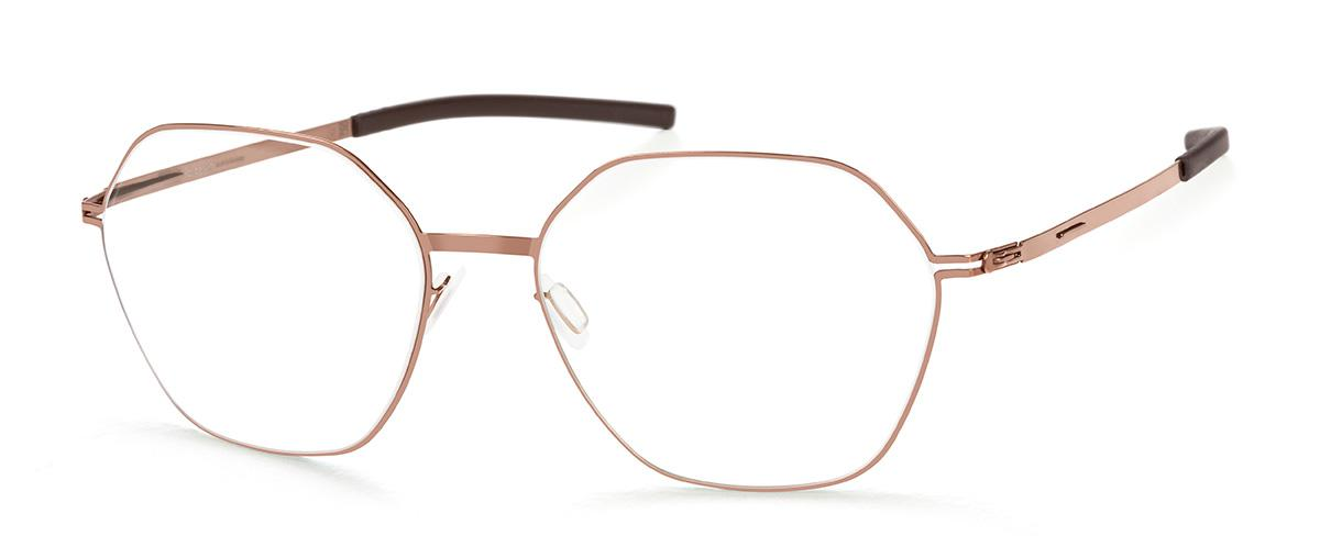 Купить Оправа Ic Berlin IB Halny Shiny Copper Nougat RX-Clear Flex, Оправы для очков