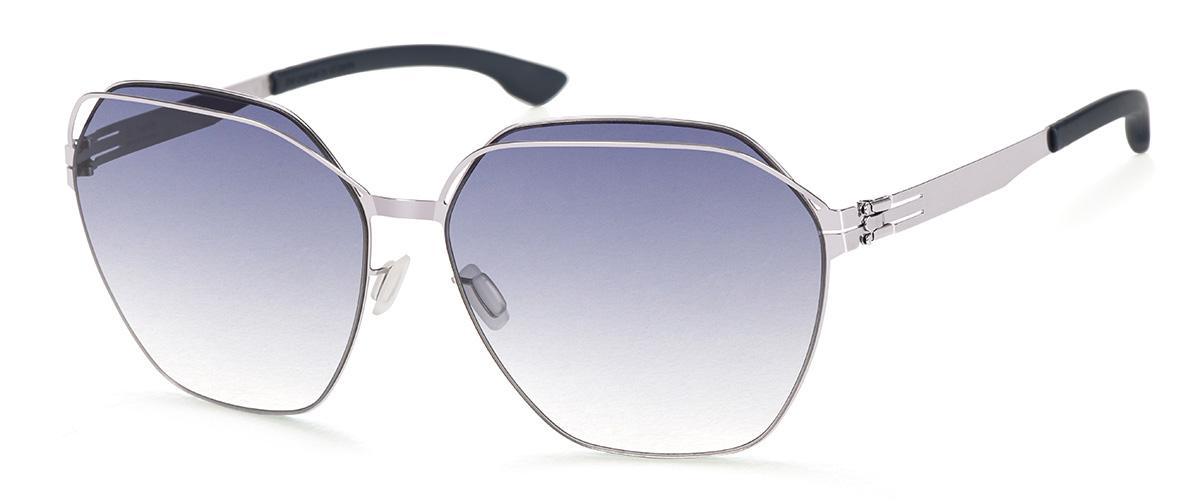 Купить Солнцезащитные очки Ic Berlin IB Kiez Chrome Marine Blue Black-Clear Donnerstag