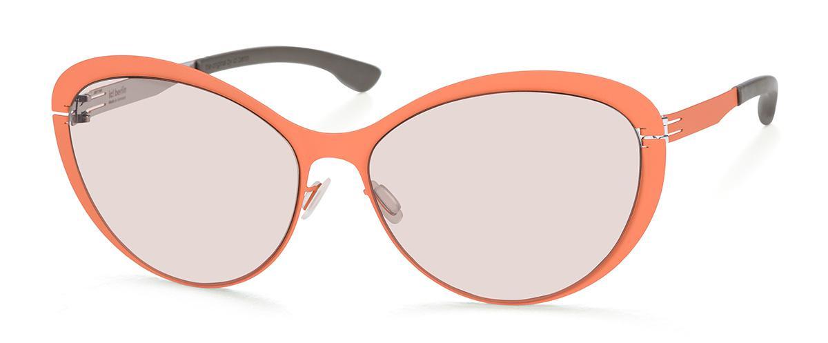 Купить Солнцезащитные очки Ic Berlin IB Mauerpark Peach Silver Warm Grey Sanssouci Donnerstag