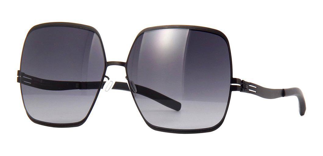 Купить Солнцезащитные очки Ic Berlin IB Angelina T Black Black to Grey Low Rider Flex
