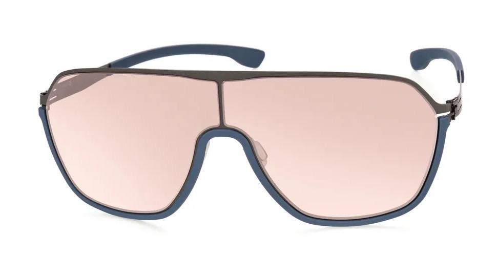 Купить Солнцезащитные очки Ic Berlin IB Baseline Graphite-Blue Cinnamon Mirrored Rubber