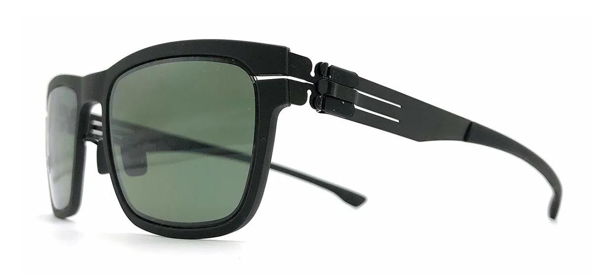 Купить Солнцезащитные очки Ic Berlin IB Five-O Black Green Polarized Rubber