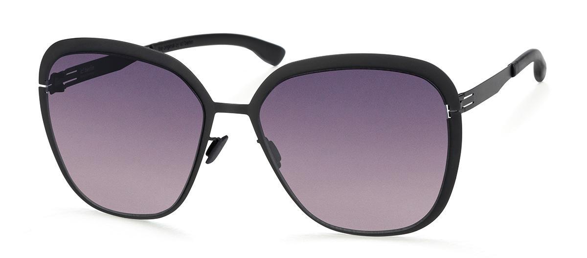 Купить Солнцезащитные очки Ic Berlin IB Grunewald Black Black to Grey Donnerstag