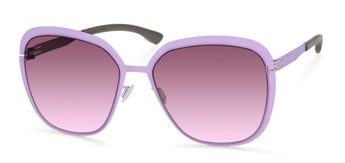 Купить Солнцезащитные очки Ic Berlin IB Grunewald Orchid Bronze Warm Grey Purple Haze Donnerstag
